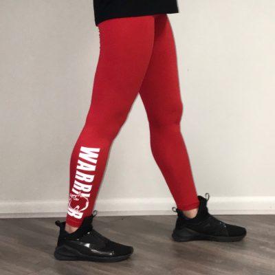 Warrior leggings RED
